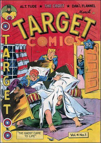 Target Comics (1943) 1-A by Novelty Press