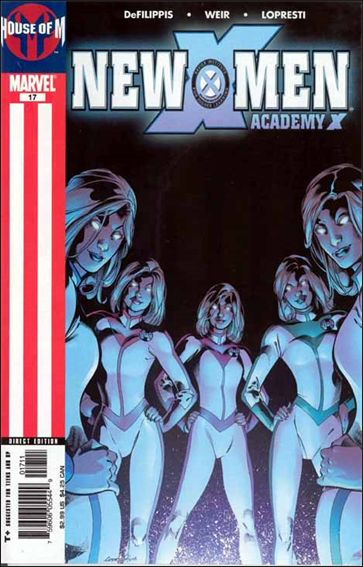 New X-Men: Academy X 17-A by Marvel