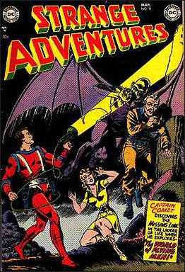 Strange Adventures (1950) 18-A by DC