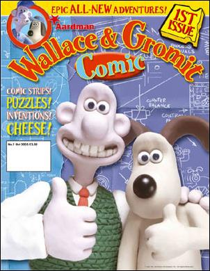 Wallace & Gromit Comic 1-A by Titan