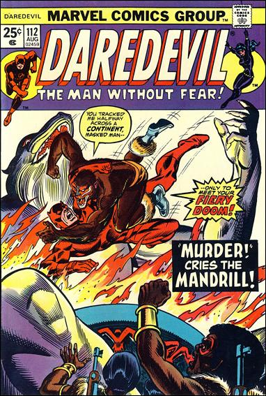 Daredevil (1964) 112-A by Marvel