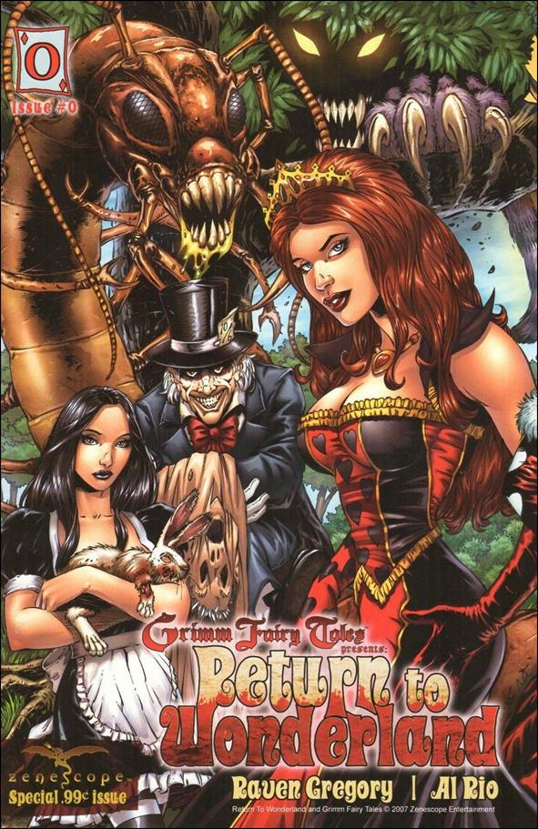 Grimm Fairy Tales: Return to Wonderland 0-B by Zenescope Entertainment