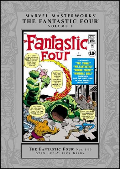 Marvel Masterworks: The Fantastic Four 1-A by Marvel