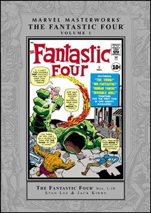 Marvel Masterworks: The Fantastic Four 1-A