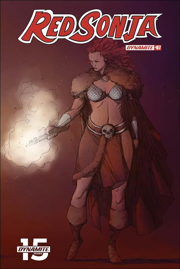 Red Sonja (2019) 7-C by Dynamite Entertainment