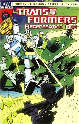 Transformers: Regeneration One 87-C by IDW