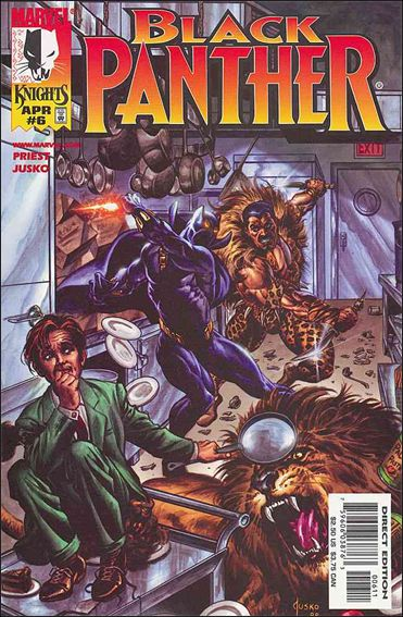 Black Panther (1998) 6-A by Marvel