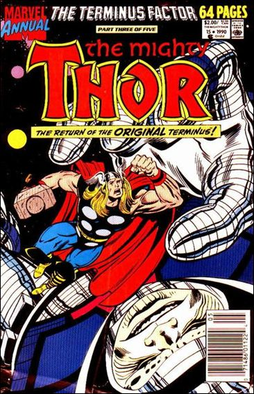 Thor Annual  15-A by Marvel