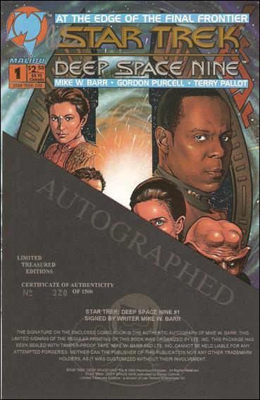 Star Trek: Deep Space Nine (1993) 1-F by Malibu
