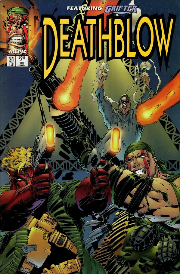 Deathblow (1993) 24-A by Image