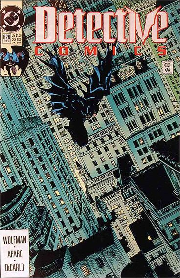 Detective Comics (1937) 626-A by DC