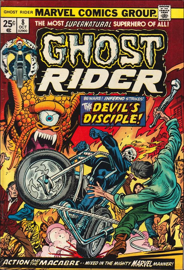 Ghost Rider (1973) 8-A by Marvel
