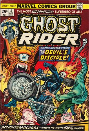 Ghost Rider (1973) 8-A