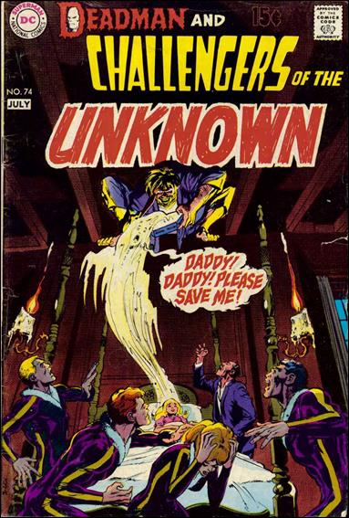 Challengers of the Unknown (1958) 74-A by DC