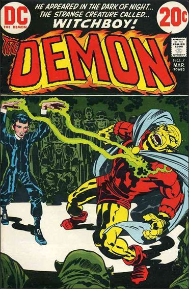 Demon (1972) 7-A by DC