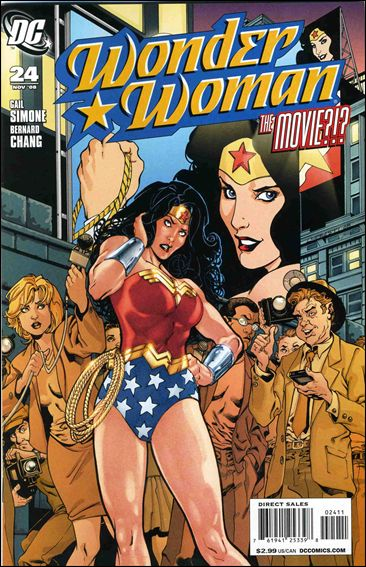 Wonder Woman (2006) 24-A by DC