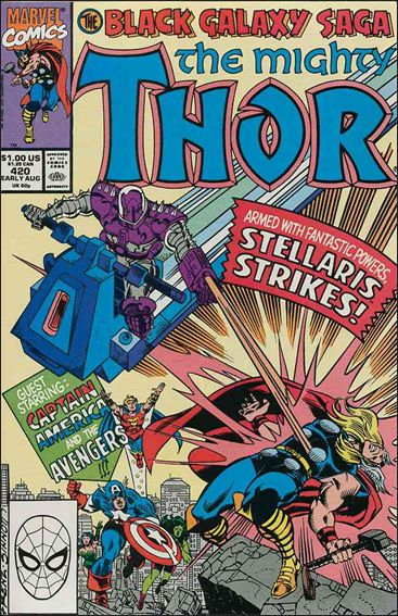 Thor (1966) 420-A by Marvel