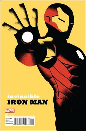 Invincible Iron Man (2015)  6-D