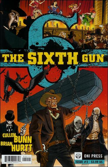 Sixth Gun 2-A by Oni Press
