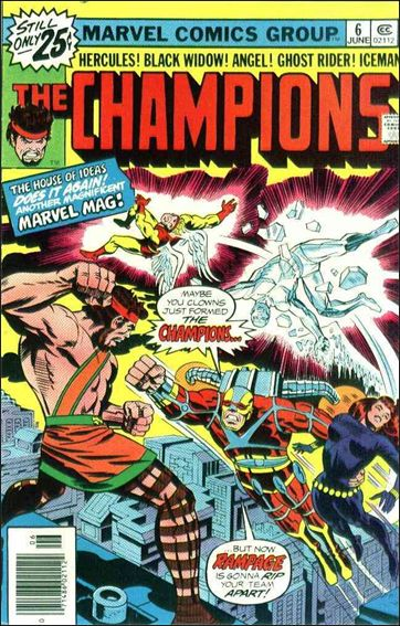 Champions (1975) 6-A by Marvel