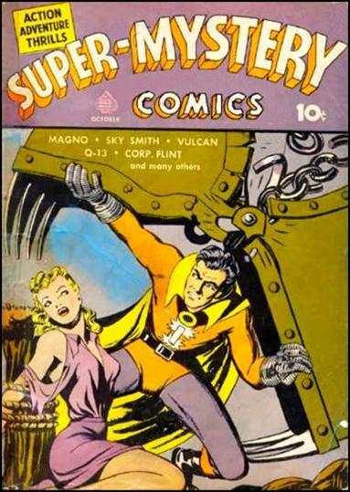 Super-Mystery Comics 3-A by Ace Magazines