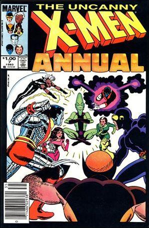 Uncanny X-Men Annual 7-A