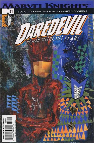 Daredevil (1998) 21-A by Marvel