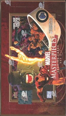 2008 Marvel Masterpieces: Series 2 1-A