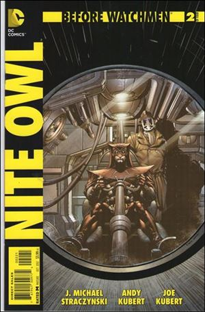 Before Watchmen: Nite Owl 2-D