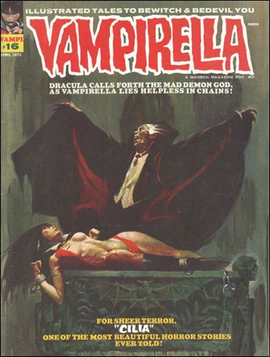 Vampirella 16-A by Warren