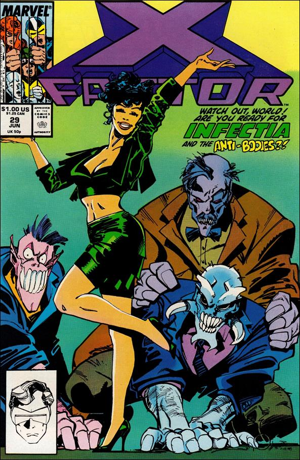 X-Factor (1986) 29-A by Marvel