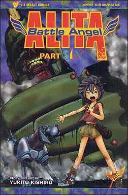Battle Angel Alita Part 6 7-A by Viz