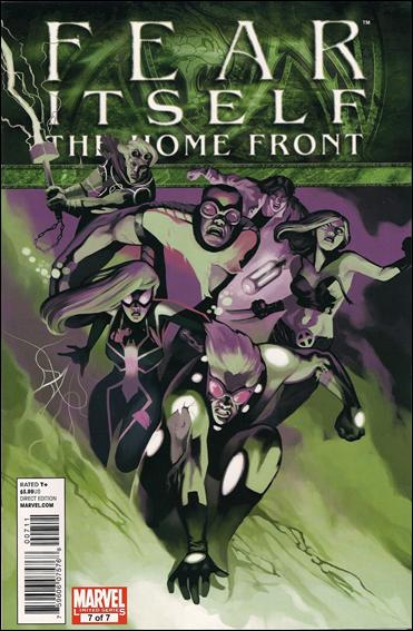 Fear Itself: The Home Front 7-A by Marvel