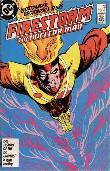 Fury of Firestorm 60-A by DC