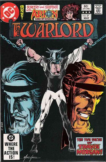 Warlord (1976) 57-A by DC