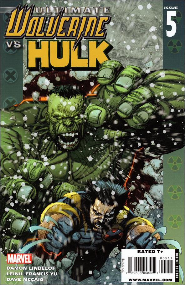 Ultimate Wolverine vs Hulk 5-A by Marvel