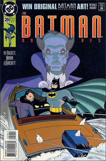Batman Adventures (1992) 29-A by DC