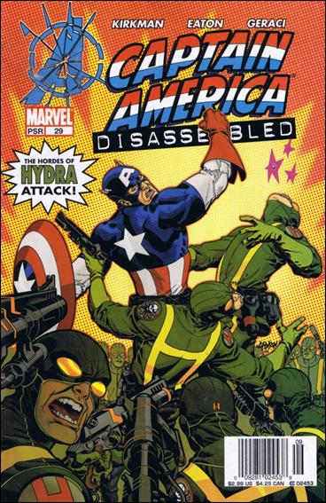 Captain America (2002) 29-A by Marvel