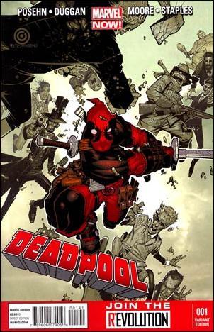 Deadpool (2013) 1-B by Marvel