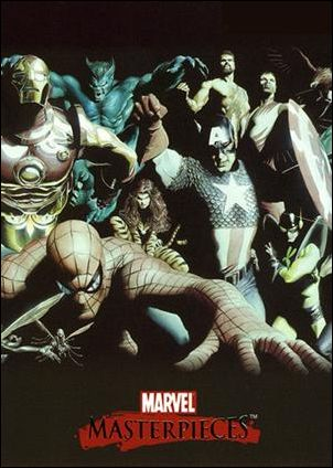 2007 Marvel Masterpieces (Ross Splash Subset) ROSS 2-A by SkyBox