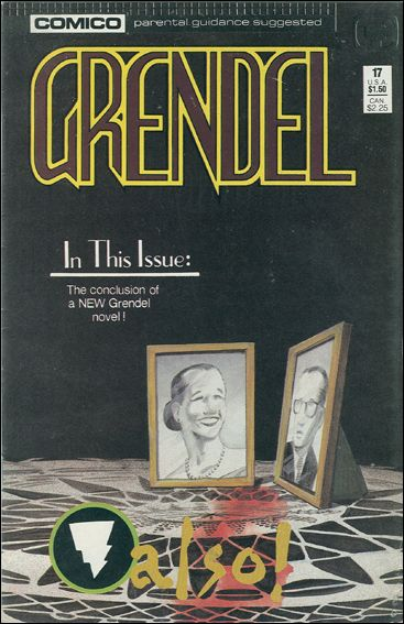 Grendel (1986) 17-A by Comico