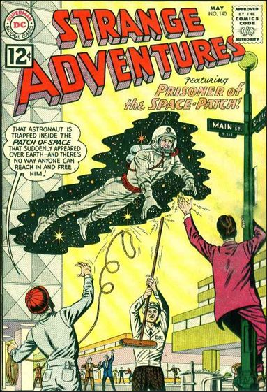 Strange Adventures (1950) 140-A by DC