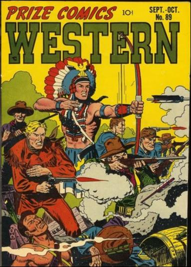 Prize Comics Western 89-A by Feature
