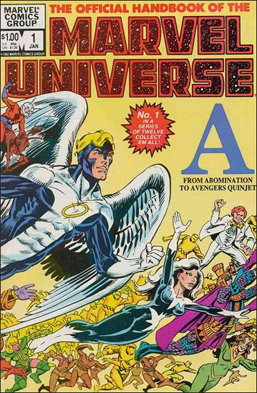 Official Handbook of the Marvel Universe (1983) 1-A by Marvel