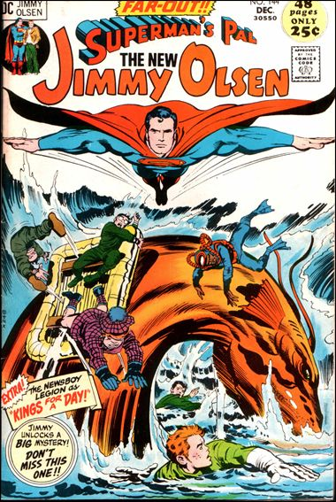 Superman's Pal Jimmy Olsen 144-A by DC