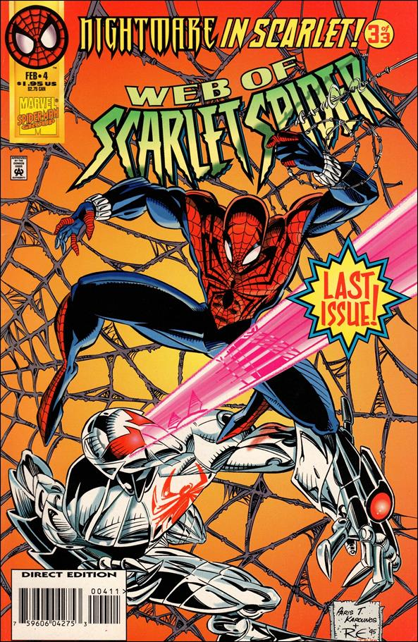 Web of Scarlet Spider 4-A by Marvel