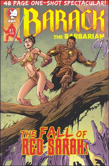 Barack the Barbarian: The Fall of Red Sarah 1-A by Devil's Due