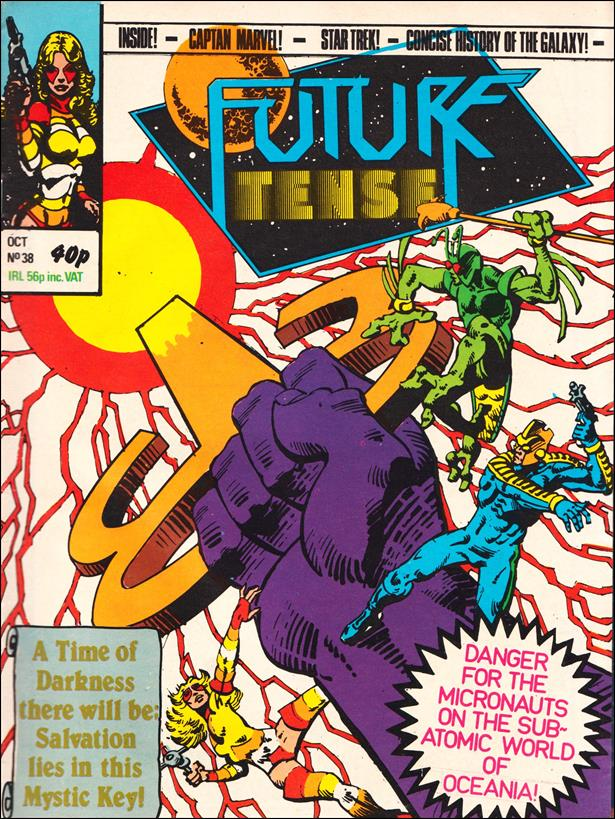 Future Tense (UK) 38-A by Marvel UK