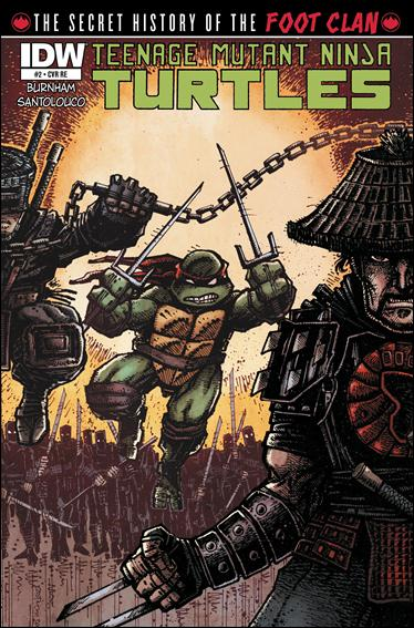 Teenage Mutant Ninja Turtles: The Secret History of the Foot Clan 2-C by IDW