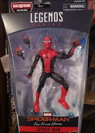 Marvel Legends Series: Spider-Man (Molten Man Series) Spider-Man